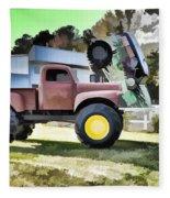 Monster Truck - Grave Digger 2 Fleece Blanket