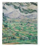 Montagne Sainte Victoire Fleece Blanket