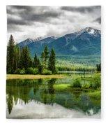 Montana Beauty Fleece Blanket