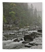 Montana Fog Fleece Blanket