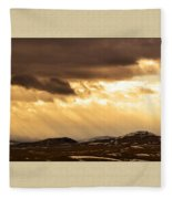 Montana Gold Fleece Blanket