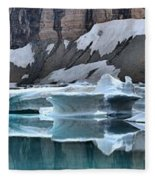 Montana Icebergs Fleece Blanket