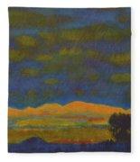 Montana Night Dream Fleece Blanket