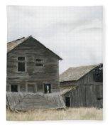Montana Past Fleece Blanket