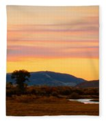 Montana Skies Fleece Blanket
