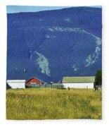 Montana Whispers Fleece Blanket