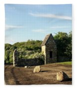 Montauk Guard House Fleece Blanket