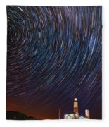 Montauk Star Trails Fleece Blanket