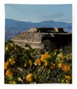 Monte Alban 4 Fleece Blanket