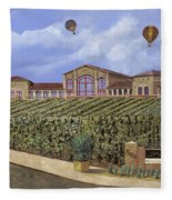 Monte De Oro And The Air Balloons Fleece Blanket