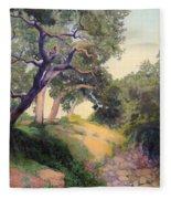 Montecito Dry River Oaks Fleece Blanket