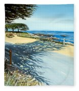 Monterey Shadows Fleece Blanket