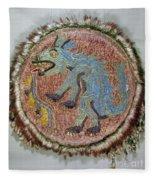 Montezuma II: Shield Fleece Blanket