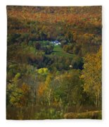 Montgomery Hillside Of Color Fleece Blanket