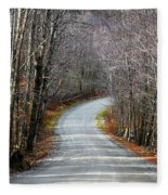 Montgomery Mountain Road Fleece Blanket