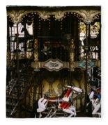 Montmartre Carousel Fleece Blanket