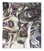 Montrails And Solomons Fleece Blanket