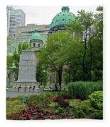 Montreal 28 Fleece Blanket
