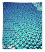 Montreal Biosphere Fleece Blanket
