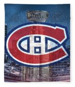 Montreal Canadiens City Fleece Blanket