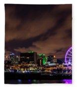 Montreal Observation Wheel Fleece Blanket