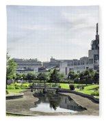 Montreal Peace In The Rush Fleece Blanket