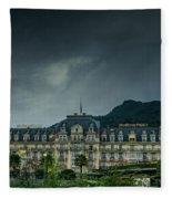 Montreux Palace Fleece Blanket