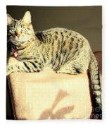 Monty's Pose Fleece Blanket