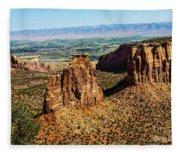 Monument Canyon Fleece Blanket