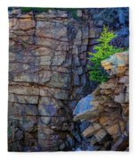 Monument Cove I Fleece Blanket