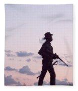 Monument Gettysburg Fleece Blanket