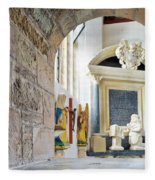 Monument In St Mylor Church Fleece Blanket