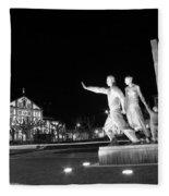 Monument To The Emigrant Fleece Blanket