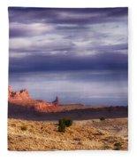 Monument Valley Morning Fleece Blanket
