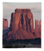 Monument Valley Sunrise 7288 Fleece Blanket