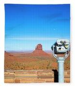 Monument Valley, Usa Fleece Blanket