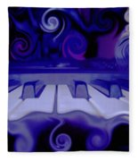 Moody Blues Fleece Blanket