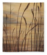 Moody Sunset Fleece Blanket