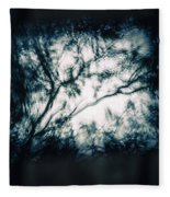 Moody Tablet Reflection Fleece Blanket