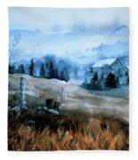 Moody Valley Fleece Blanket