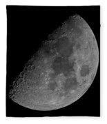 Moon 61 Percent Fleece Blanket