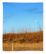 Moon In The Morning Fleece Blanket