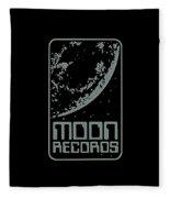 Moon Records Fleece Blanket