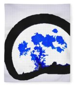 Moon Set Fleece Blanket