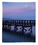 Moon Shadows Fleece Blanket