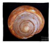 Moon Shell Fleece Blanket