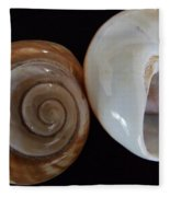 Moon Shells Fleece Blanket