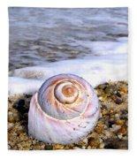 Moon Snail Fleece Blanket