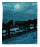 Moonbeam Fleece Blanket