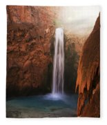 Mooney Falls Grand Canyon 1 Fleece Blanket